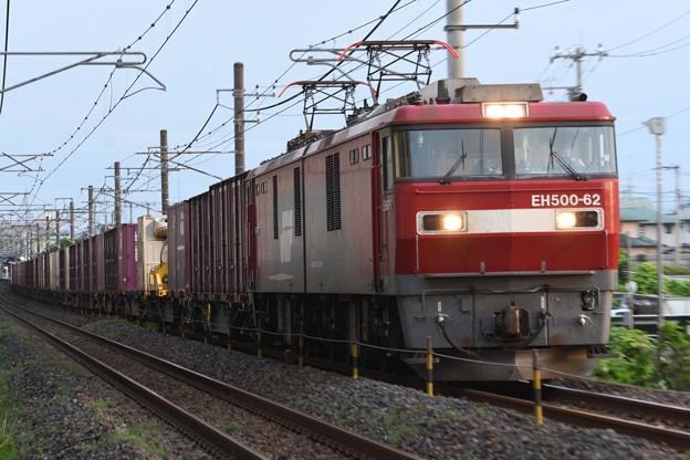 EH500-62牽引3057レ