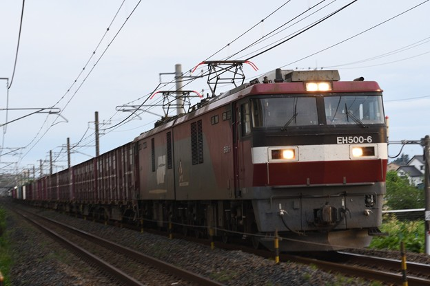 EH500-6牽引8063レ