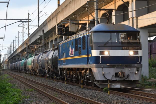 EF210  327牽引8680レ