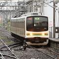 Photos: 205系メルヘン編成雨の宇都宮入線