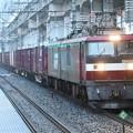 Photos: EH500-3牽引3058レ雨の石橋駅通過