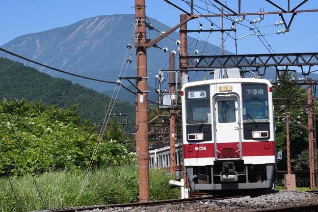 6050型普通下今市行き東武日光発車