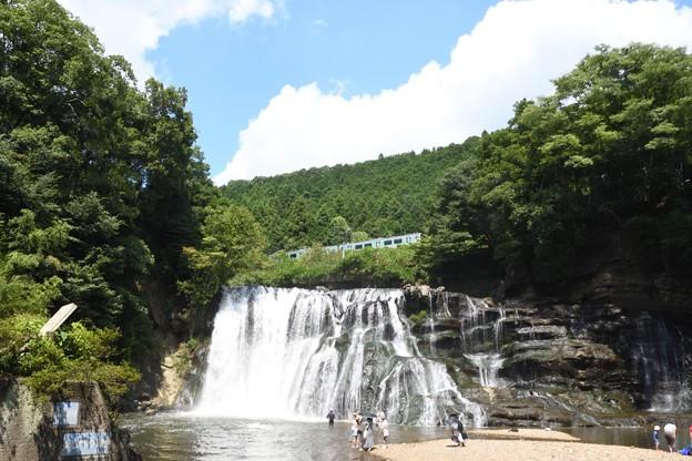 夏・龍門の滝