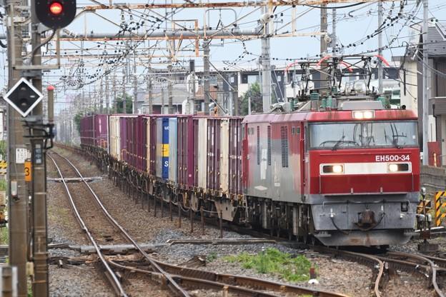 Photos: EH500-34牽引4088レ雀宮通過