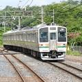 Photos: 211系小山行き富田入線