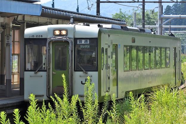 キハ110‐226飯山線 戸狩野沢温泉行き