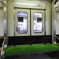 京阪5000系ラッシュ用ドア席