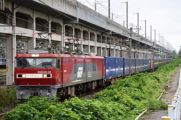 EH500-34牽引カンガルーライナー4059レ