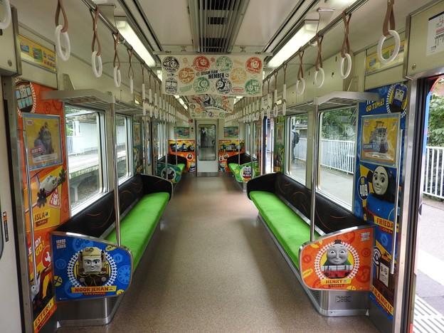 京阪電車きかんしゃトーマス号2020車内