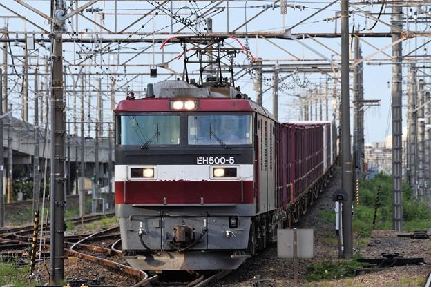 EH500-5牽引4088レ小金井3番通過