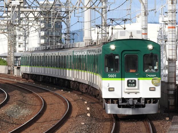 京阪5000系普通中之島行き