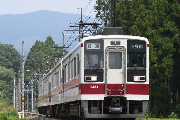 東武鬼怒川線6050型下今市行き