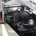 Photos: C11 207牽引SL大樹5号大桑1番入線