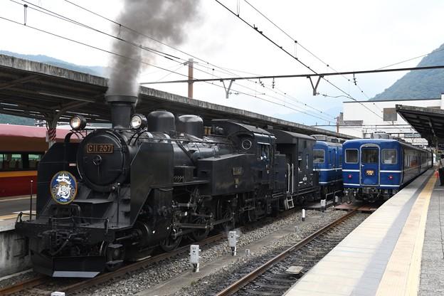 C11 207牽引SL大樹6号鬼怒川温泉発車