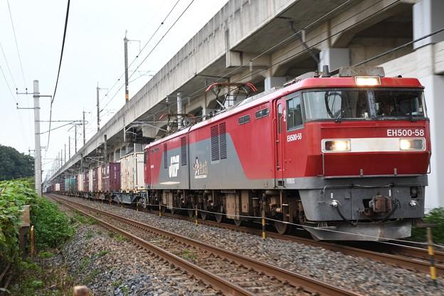 EH500-58牽引8062レ広島貨物(タ)行き