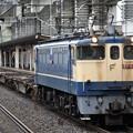 EF65 2091号機牽引空コキ配給8592レ