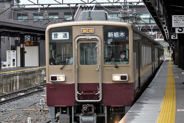 東武6050型リバイバル色新栃木行き