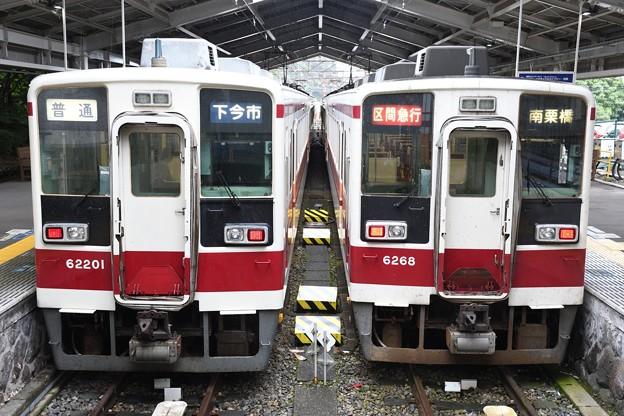 東武6050型と会津鉄道6050型200番台
