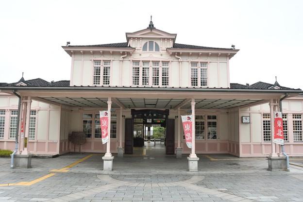 洋館浪漫の日光駅