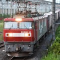 EH500‐10号牽引3058レ通過!