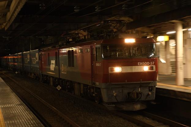 EH500-37牽引トヨタロングパスエクスプレス4052レ