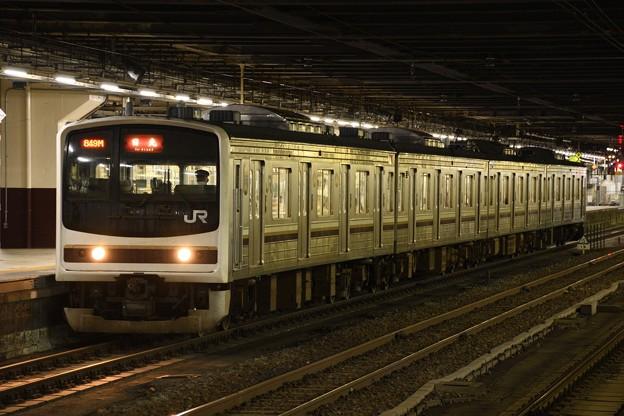 205系600番台Y10編成日光行き849M