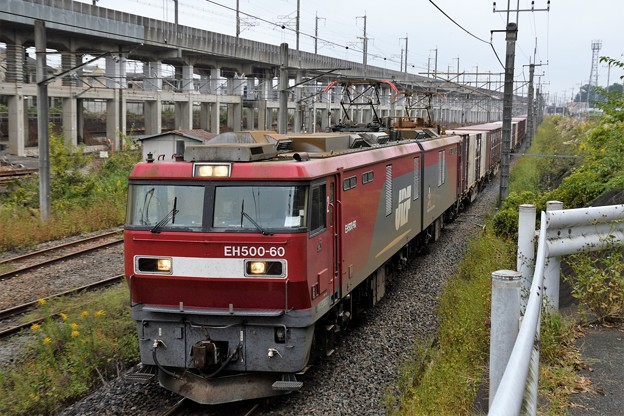 EH500-60牽引94レ宇都宮貨物(タ)通過