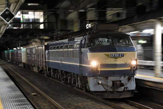 EF66 27号機牽引4076レ