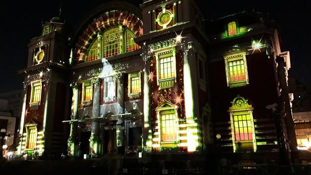 2018.12.17(大阪光の饗宴/中之島/大阪市中央公会堂/ウォールタペストリー1)