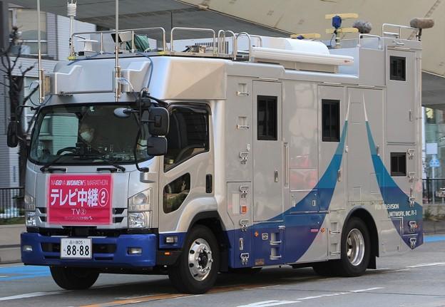 フジテレビ 4K対応移動中継車「R-1」