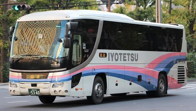 伊予鉄道 夜行高速バス「オレンジライナーえひめ号」      (ハイデッカー)