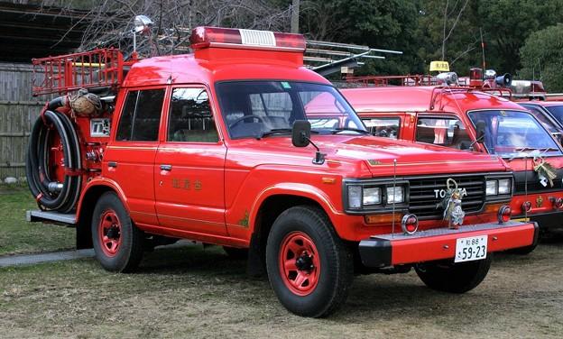 和歌山市消防団 BD-Iポンプ車