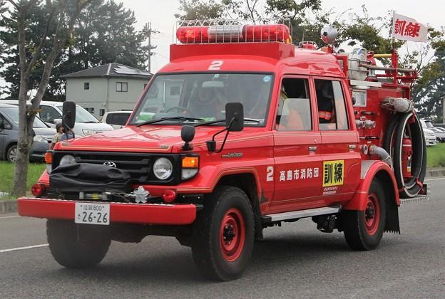滋賀県高島市消防団 BD-Iポンプ車