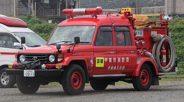 滋賀県甲賀市消防団 BD-Iポンプ車