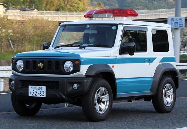 和歌山県警 多目的災害活動車