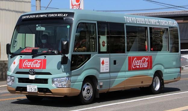日本コカ・コーラ マイクロバス(東京2020オリンピック仕様)
