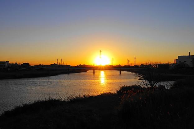 210119_51Y_夕景の川で・RX10M3(鶴見川) (127)