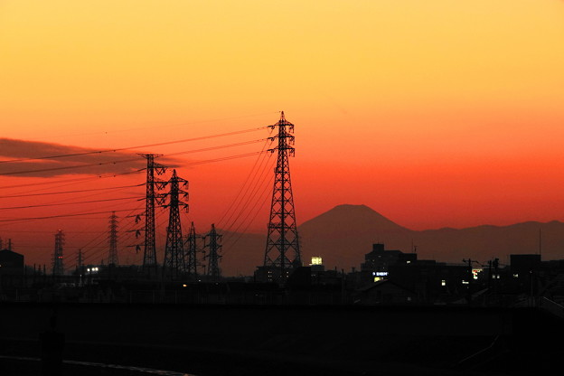 210121_52Y_夕景の川・RX10M3(鶴見川) (4)