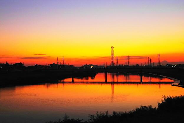 210121_52Y_夕景の川・RX10M3(鶴見川) (9)