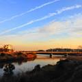 Photos: 210122_51Y_夕景の川・RX10M3(矢上川) (3)