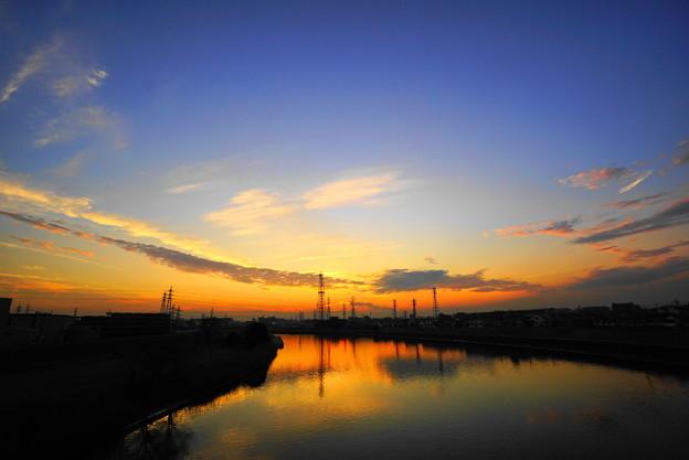 210122_61Y_夕景の川・S1018(鶴見川) (79)