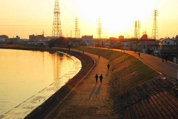 210207_72K_夕方の河川敷・RX10M3(鶴見川) (12)