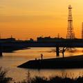 210211_51Y_夕景の川・RX10M3(鶴見川) (36)