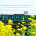 Photos: 200319_52D_東急線の流し撮り・RX10M3(鶴見川) (110)