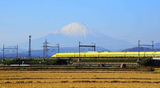 191216_L02_ドクターイエローと富士山・S18200(平塚) (13-2)