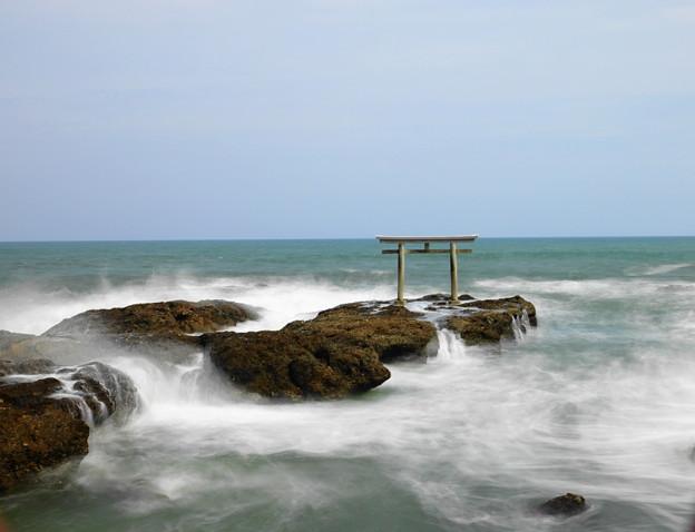 210425_56K_鳥居と磯・長秒・RX10M3(大洗磯前神社) (87)