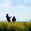 Photos: 210102_25N_菜の花畑で・RX10M3(ソレイユの丘) (79)