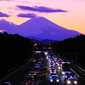 Photos: 200209_42Y_夕景冨士・S18200(茅ヶ崎) (6)