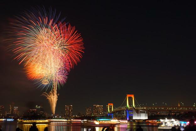 Photos: 191214_α51_花火・S1655G(お台場) (2)