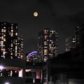 Photos: 210724_55T_満月を多重露光・RX10M3(近隣) (32)